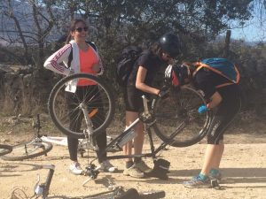 Primeras escapadas en bici con mis amigas
