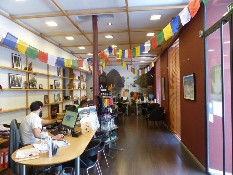 Trekking y Aventura. Interior