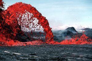 Lava volcán