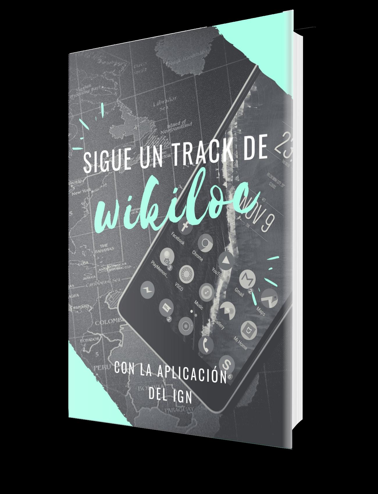 Guía como descargar un track de wikiloc