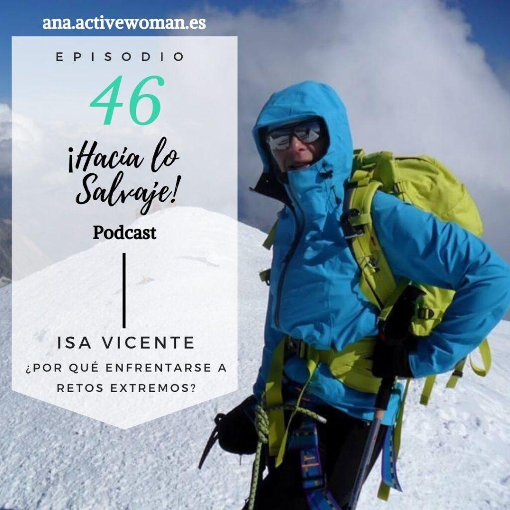 Podcast Hacia lo Salvaje con Isabel Vicente